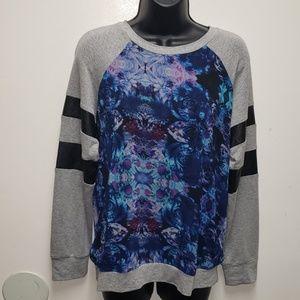 Wells Grace Floral Pullover Sweatshirt